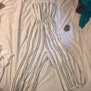 urban outfitters no sleeved jumpsuit